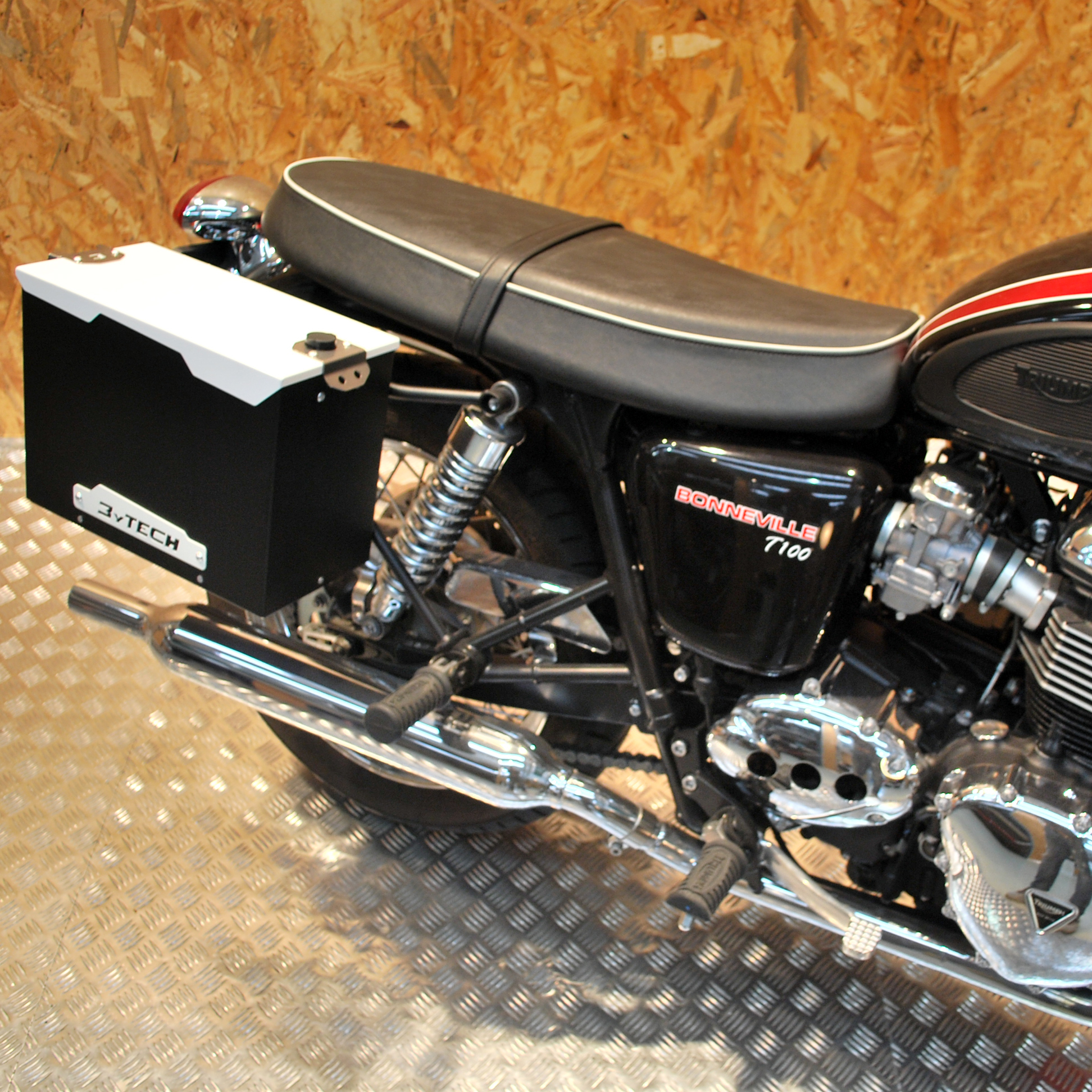 Smart tank 12 L Left + Fixing frame – Scrambler from 2008 to 2016 ...